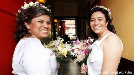 Kolumbien Gleichgeschlechtliche Ehe (picture-alliance/dpa/C. Rubio)