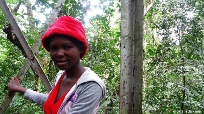 Ester Kilabo diz que a Floresta de Zika é seu jardim