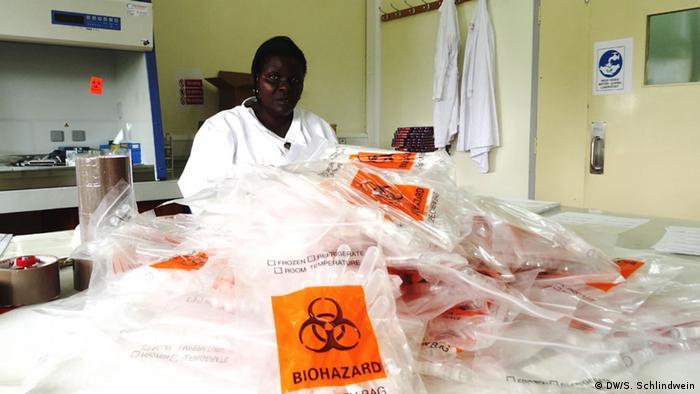 Zika Virusinstitut in Uganda
