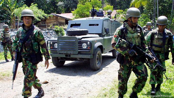 Indonesien Kopassus Spezialkräfte