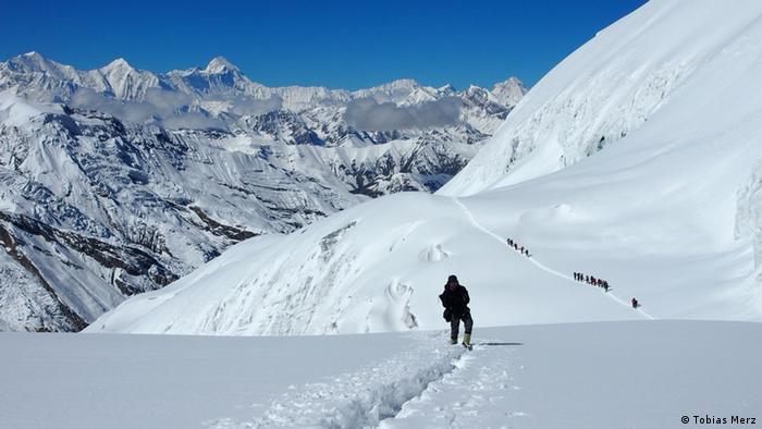 Nepal Himalaya Himlung Himal Tobias Merz Urs Hefti