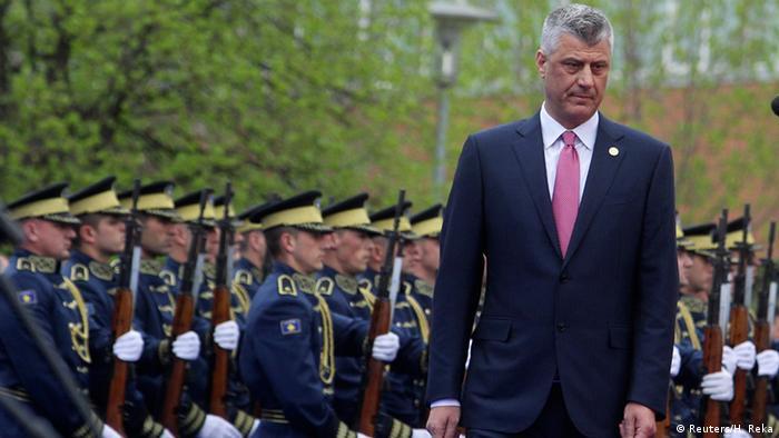 Kosovo Einweihungszeremonie Präsident Hashim Thaci in Pristina