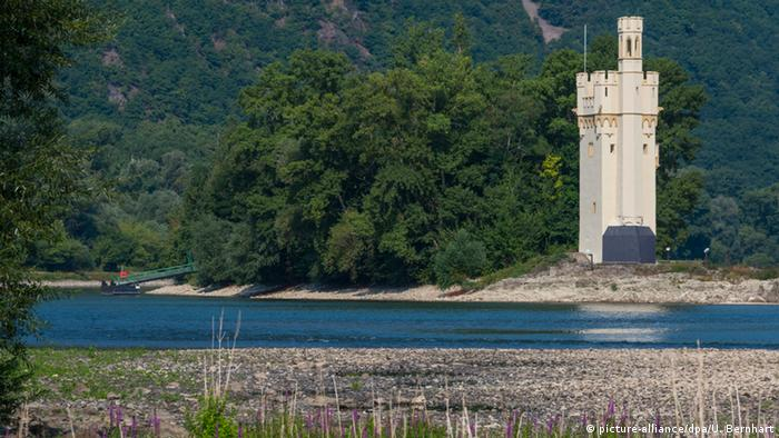 Мышиная башня (Mäuseturm) в Бингене
