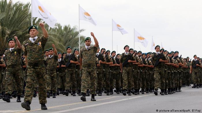 военный парад в Никосии