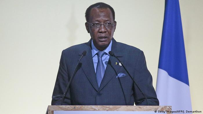 Tschads Präsident Idriss Deby Itno (Foto: AFP)