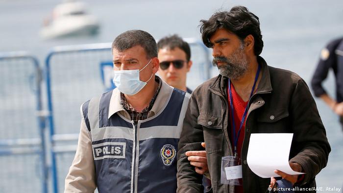 Türkei Dikili Rückführung von Flüchtlingen