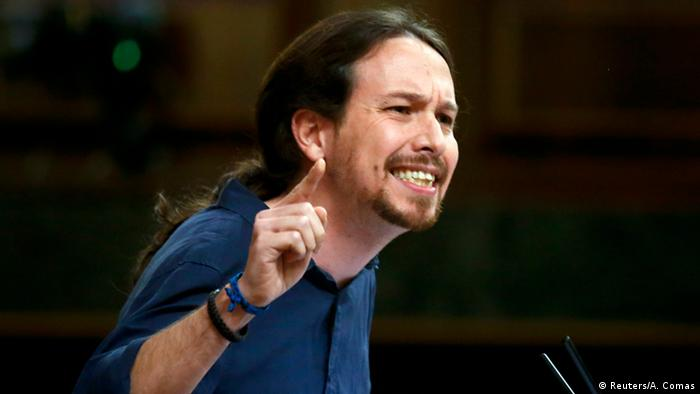 Spain′s leftist Podemos party re-elects Iglesias as leader | News ...
