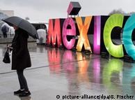 """Логотип """"Мексика"""" у Берліні, 2016 рік"""