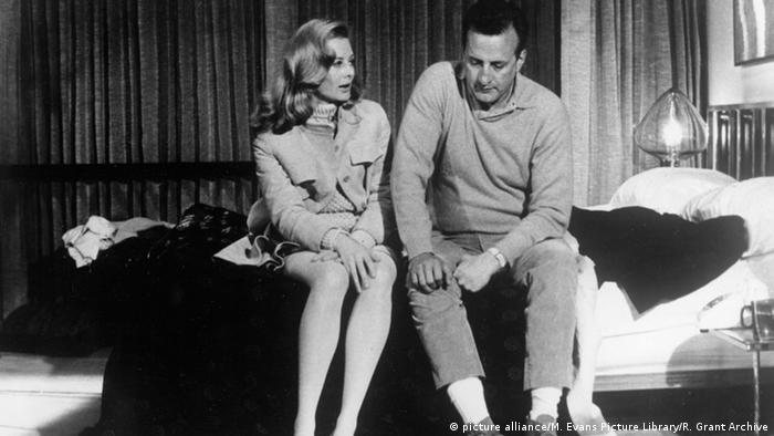 Julie Christie im Film 'Petulia' mit George C. Scott (Foto: picture alliance/M. Evans Picture Library/R. Grant Archive)
