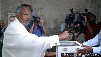 Le président de Djibouti Ismaël Omar Guelleh, règne sans partage depuis 1999 sur ce pays de la Corne de l'Afrique.