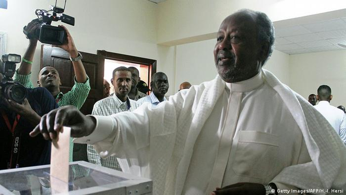 Dschibuti Präsidentenwahl Ismail Omar Guelleh (Getty Images/AFP/H.-I. Hersi)