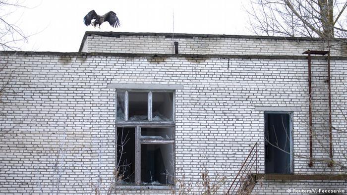 Школа у покинутому селі Тульговичі
