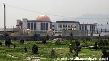 Afghanistan das neue Parlamentsgebäude in Kabul