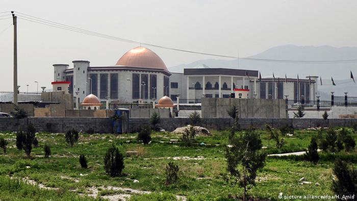 ساختمان پارلمان افغانستان در کابل