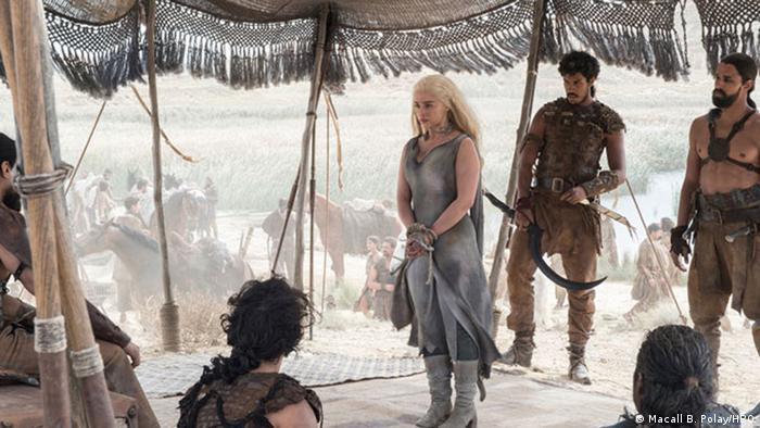 Emilia Clarke as Daenerys Targaryen - Game of Thrones. Copyright: Macall B. Polay /HBO