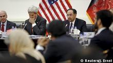 Afghanistan John Kerry und Salahuddin Rabbani in Kabul