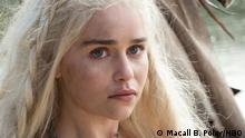 ### ACHTUNG! Nur zur AKTUELLEN Berichterstattung über die 6. Staffel von GOT verwenden!!! ### Game of Thrones, Staffel 6 Emilia Clarke als Daenerys Targaryen. Foto: Macall B. Polay/HBO © Macall B. Polay/HBO