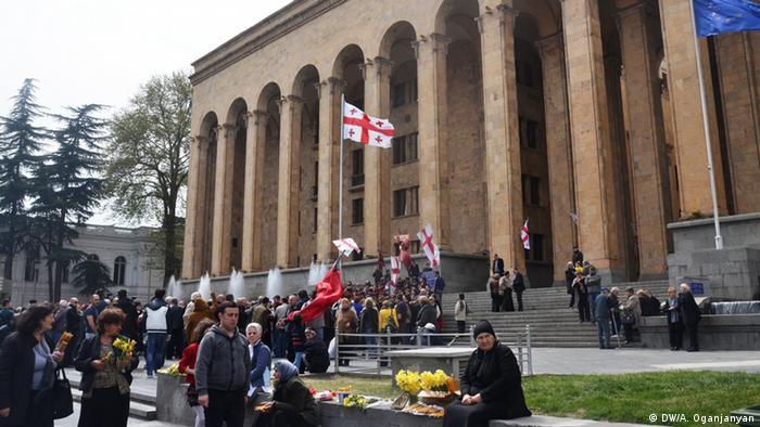 Празднование 25-летия независимости в Тбилиси