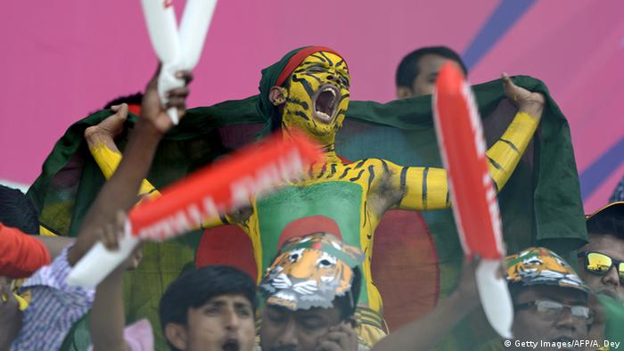 Bangladesch Cricket Fans (Getty Images/AFP/A. Dey)