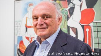 Portrait of the art collector and fine art dealer David Nahmad. Photo by Marco Piovanotto/ABACAPRESS. COM