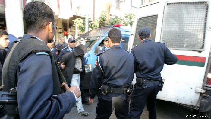 Marokko Rabat Polizei verhaftet Extremisten