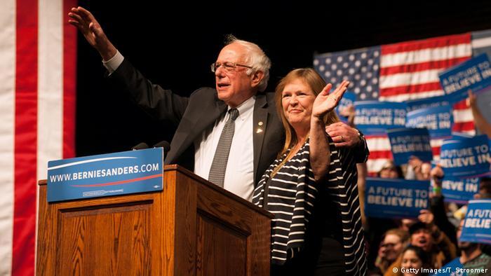 USA Demokraten Wahlkampf Wyoming - Bernie Sanders