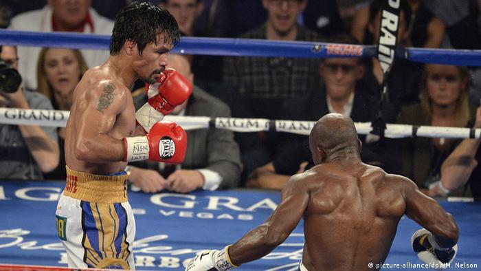Pacquiao es una leyenda del boxeo.