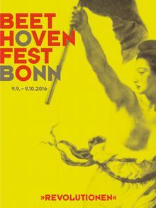 Cartaz do Beethovenfest 2016