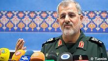 Titel: Mohammad Pakpour, Kommandeur der iranischen Landstreitkräfte der Revolutionsgarde Sepah Rechte: lizenzfrei, Tasnim Quelle: http://www.tasnimnews.com/fa/news/1395/01/22/1044114