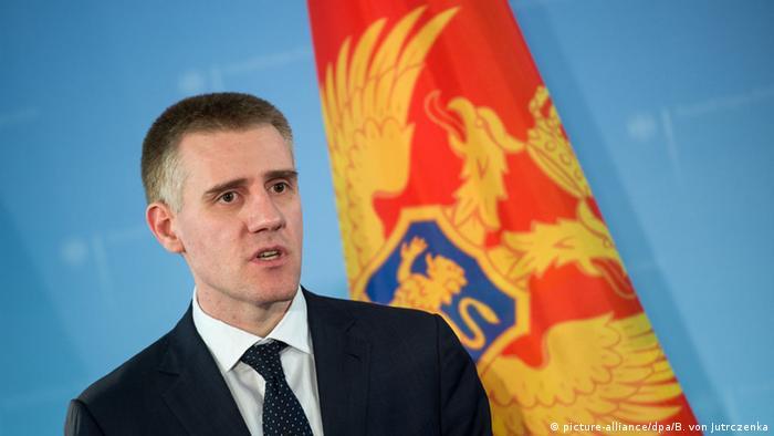Igor Luksic Außenminister von Montenegro (picture-alliance/dpa/B. von Jutrczenka)