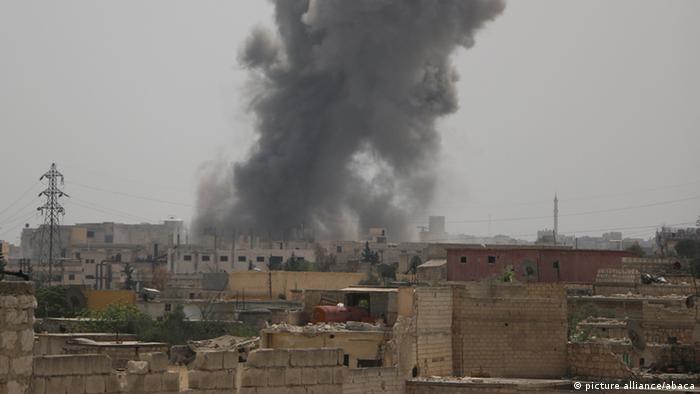 Syrien Aleppo Bürgerkrieg Luftschläge