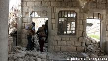 08.04.2016 *** ALEPPO, SYRIA - APRIL 8 : Syrian oppositions attack regime forces at Handarat region of Aleppo, Syria on April 8, 2016. Beha el Halebi / Anadolu Agency Copyright: picture alliance/abaca
