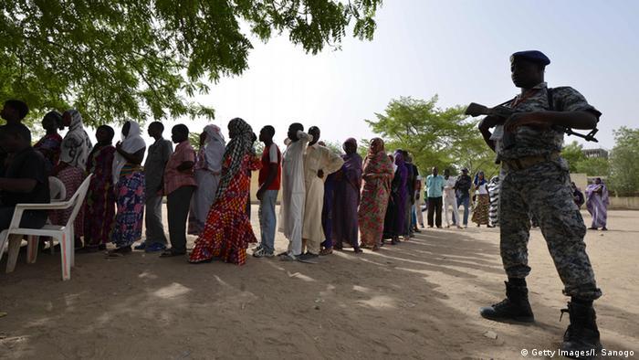 Wahlen Tschad Wähler Security