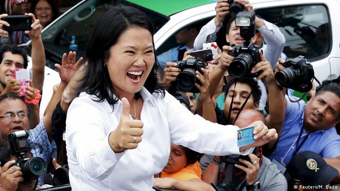 Peru Keiko Fujimori Wahlen