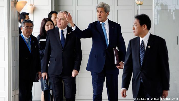 На встрече министров иностранных дел стран большой семерки