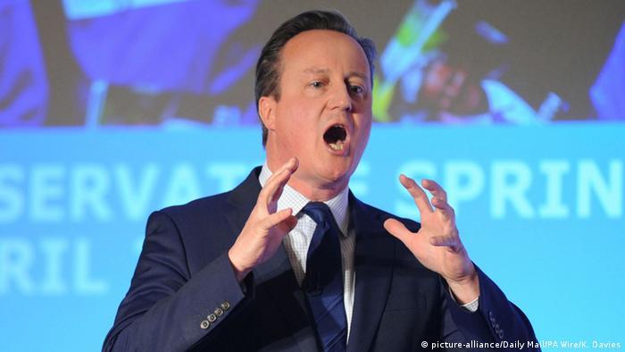 Großbritannien David Cameron