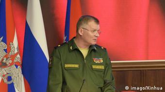 Russland Igor Konaschenkow Sprecher des Verteidigungsministeriums (Foto:© imago/Xinhua)