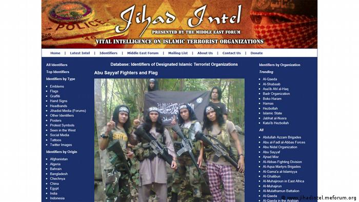 Philippinen Abu Sayyaf Kämpfer Screenshot