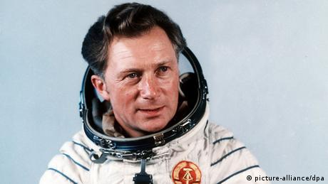 Sigmund Jähn in his space suit