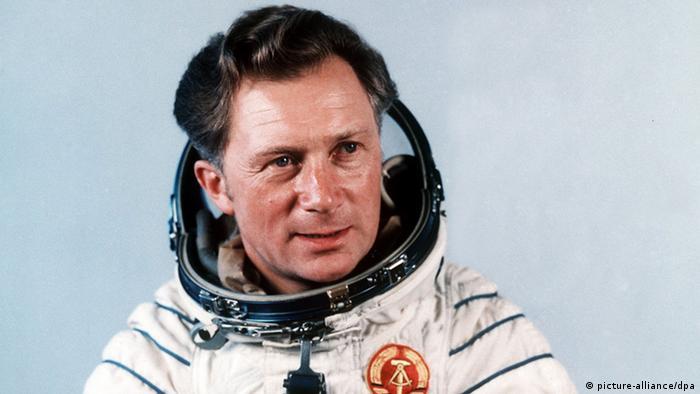 Sigmund Jähn in his space suit