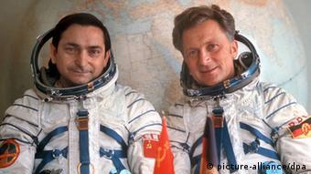 Валерий Быковский и Зигмунд Йен