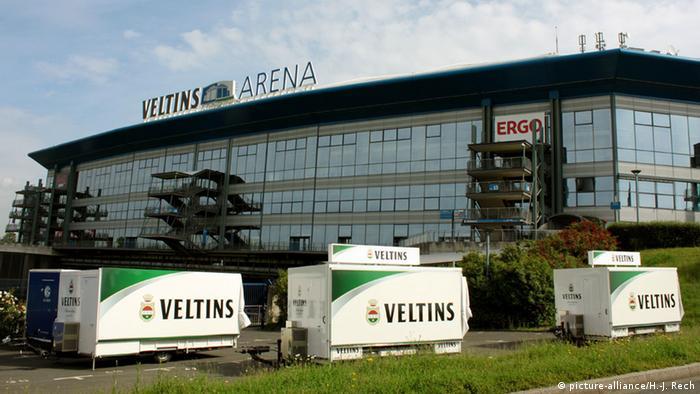 Футбольный стадион Veltins-Arena в Гельзенкирхене