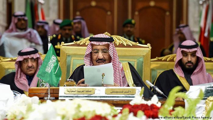 Saudi-Arabien König Salman GCC Gipfel