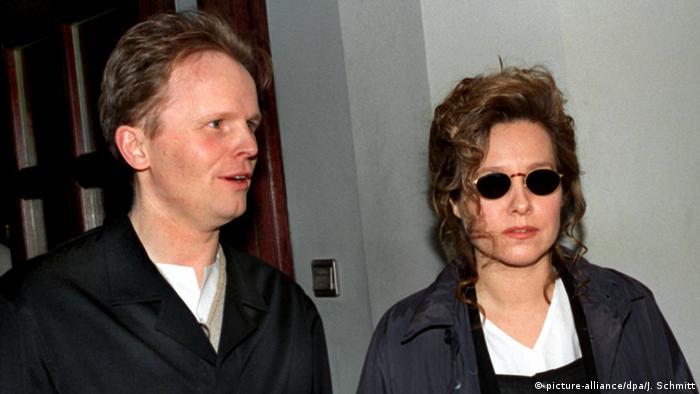 Herbert Grönemeyer und Ehefrau Anna, Foto: dpa
