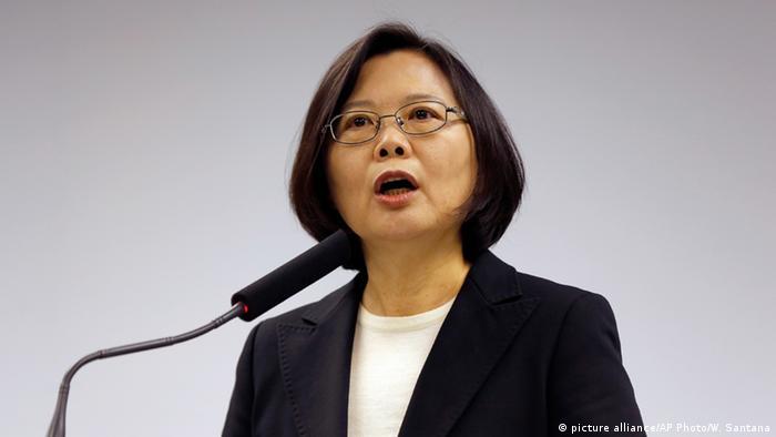 Symbolbild Taiwan Präsidentin Tsai Ing-wen