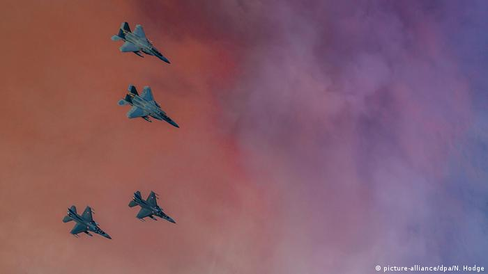 Türkei Manöver der U.S. und türkischen Luftwaffe (picture-alliance/dpa/N. Hodge)