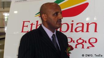 Tewolde Gebremariam, CEO Ethiopian Airlines (DW/G. Tedla)