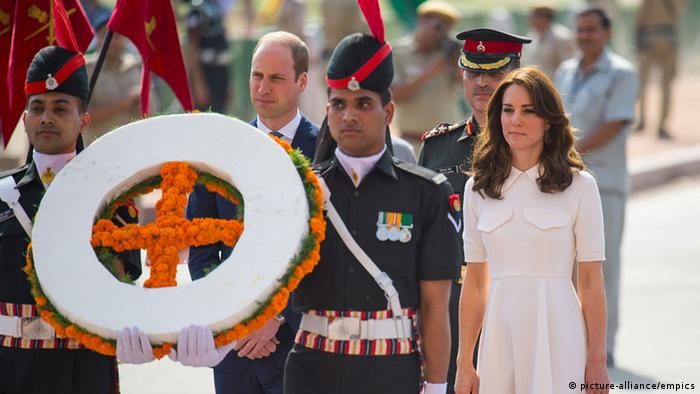 Kate und William in Indien (Foto: picture alliance)