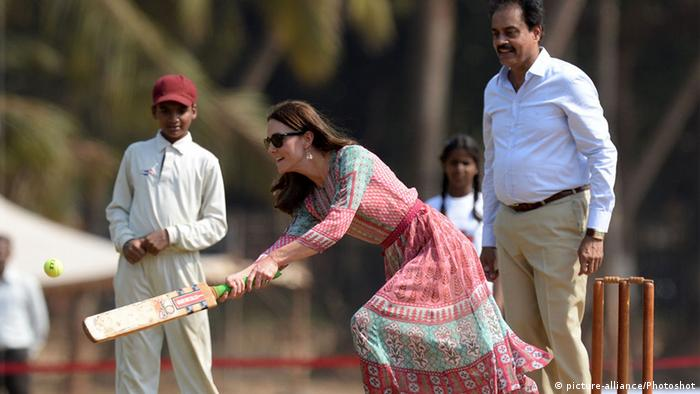 Kate und William in Indien