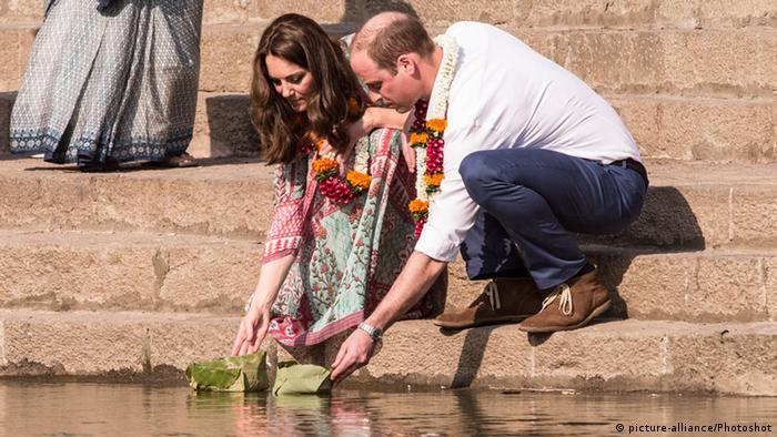 Kate and William in India (picture-alliance/Photoshot)